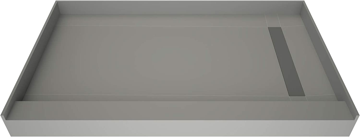 Tile Redi T3660R-SCTTBVZ Reservation Shower Pan Kit specialty shop with Right Flashing Dra