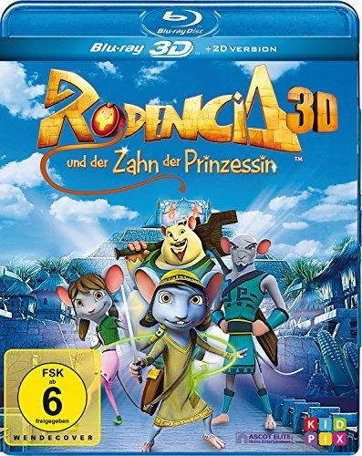 Rodencia und der Zahn der Prinzessin / Rodencia and The Princess Tooth (3D) ( Rodencia y el Diente de la Princesa ) (3D & 2D) (Blu-Ray)
