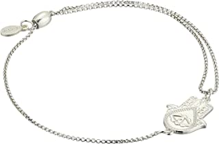 Alex and Ani Hand of Fatima Pull Chain Bracelet - Sterling Silver