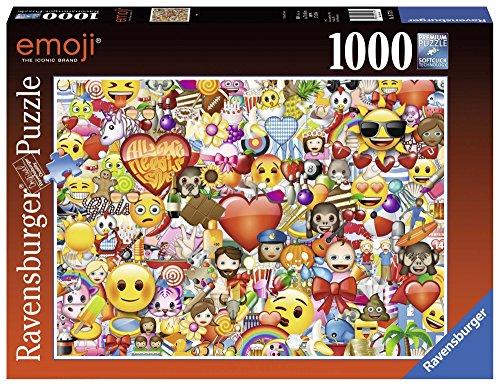 Ravensburger Puzzle, Puzzle 1000 Pezzi, Emoji Puzzle, Puzzle per Adulti, Puzzle Ravensburger - Stampa di Alta Qualità