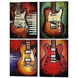 Music Abstrakte Kunst Gitarre Leinwand Prints Art Home