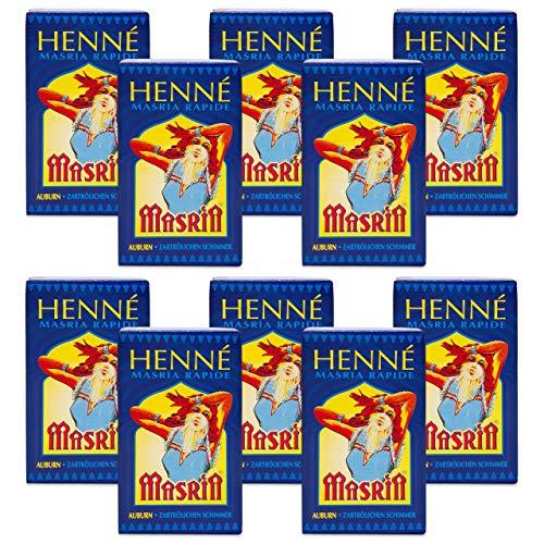 Henna Feurigrot Feuer Rot 10-er Pack