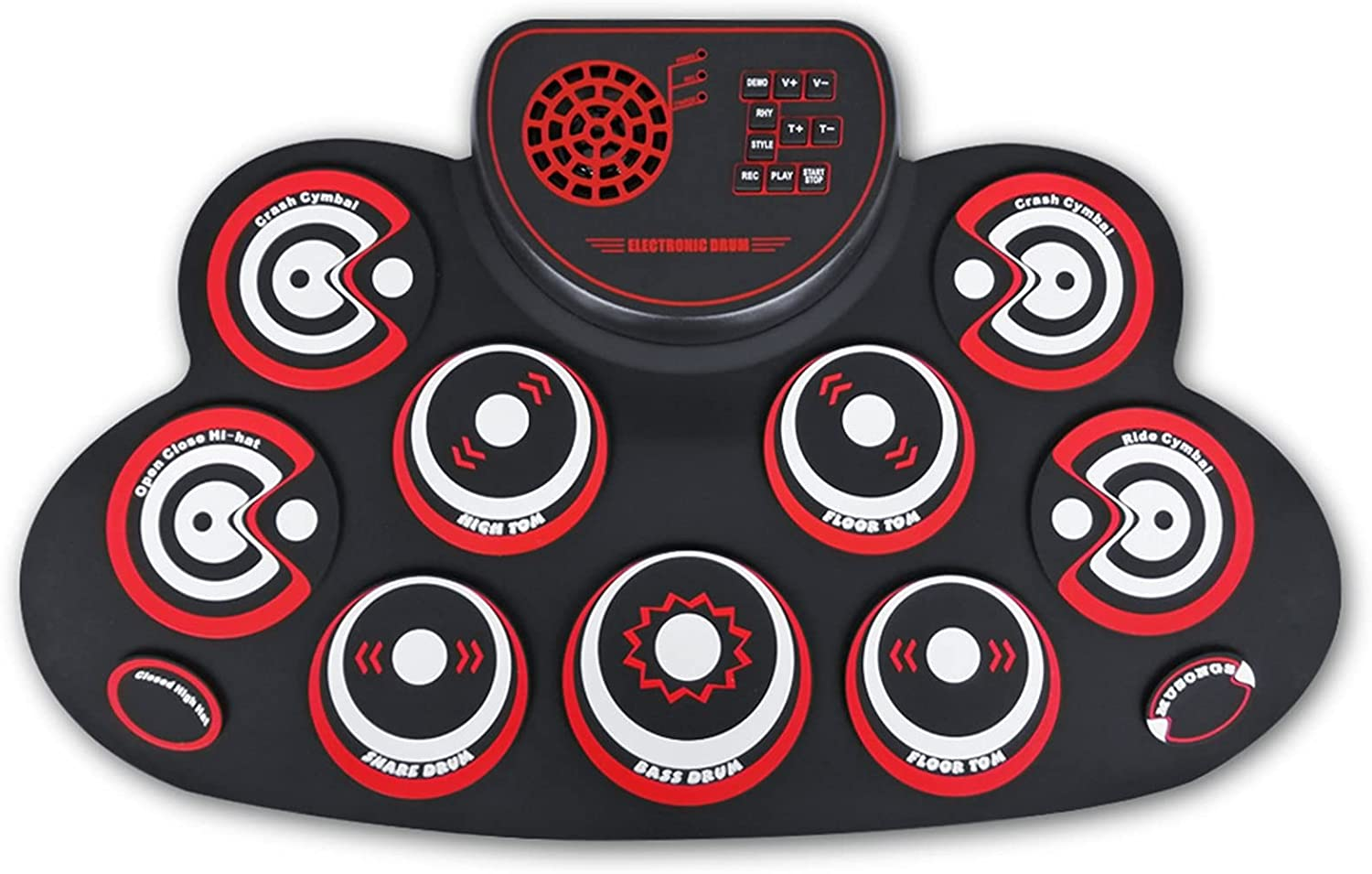 RROWER 9 Pads Electronic Drum with Selling rankings Set Headph Electric List price