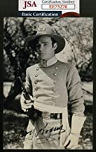 Roy Rogers Coa Hand Signed Photo Autograph 4 - JSA Certified - Movie Photos