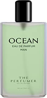 The Perfumer Ocean Perfume for Men Fresh Aquatic Fragrance, 100 ml