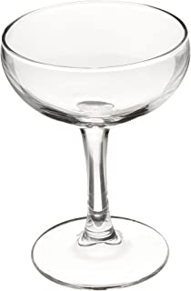Luminarc FBA_J6576 Barcraft Coupe Cocktail (Set of 4), 5.5 oz, Clear, Martini