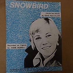 song sheet SNOWBIRD, Anne Murray, 1970