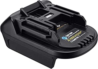FirstPower Battery Adapter for Makita 18V Lithium-ion Power Tools,Convert Milwaukee 18V or Dewalt 20V Lithium-ion Battery to Makita 18V Lithium-ion Battery