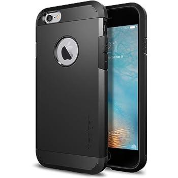 Spigen Coque iPhone 6s [Tough Armor] Protection Extrême 4 Coins, Test Militaire Certifié, Compatible avec iPhone 6s / iPhone 6 - Noir