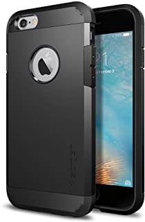 Spigen Apple iPhone 6/iPhone 6S (4.7 inch) Tough Armor Case/Cover [Smooth Black]