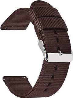 Achket حزام 18 ملليمتر 20 ملليمتر 22 ملليمتر 24 ملليمتر النايلون قماش حزام watchband ووتش 42 ملليمتر 46 ملليمتر سوار الفرق...