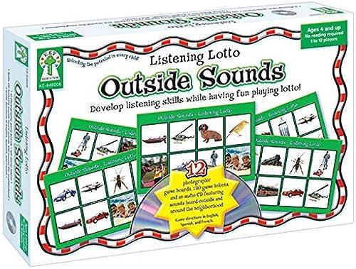 Entrega rápida y envío gratis en todos los pedidos. Listening Lotto  Outside Sounds Educational Board Board Board Game by Key Education  servicio honesto