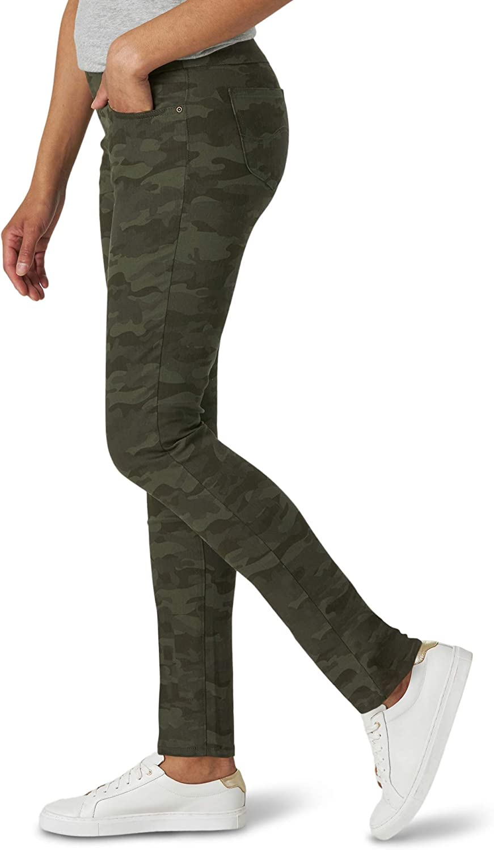 Lee Womens Sculpting Fit Slim Leg Pull-On Jeans