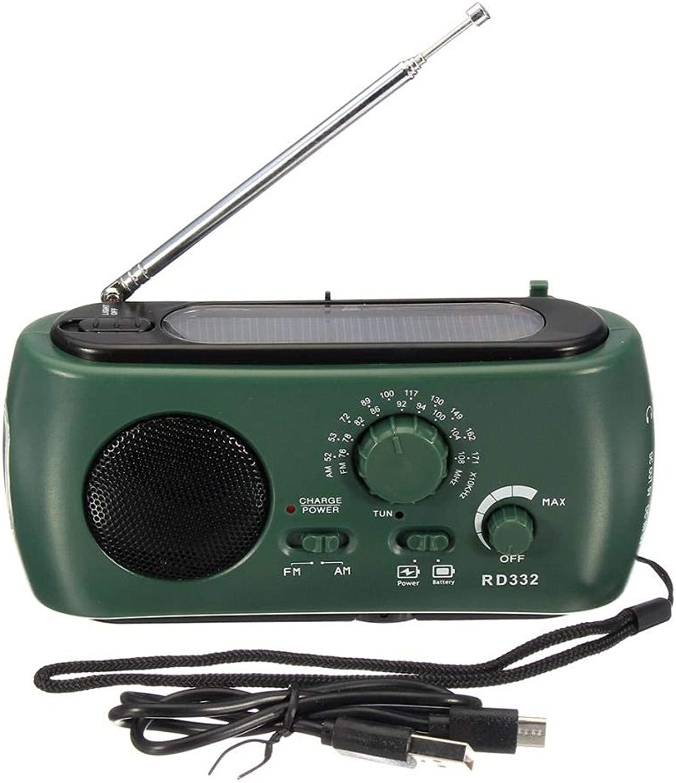 Yongse Dynamo Generator FM AM Solar Kurbelbetriebenes Radio mit mit mit Taschenlampe Telefon Ladegerät B07N5KHRNJ  Hervorragende Funktion 3890d5
