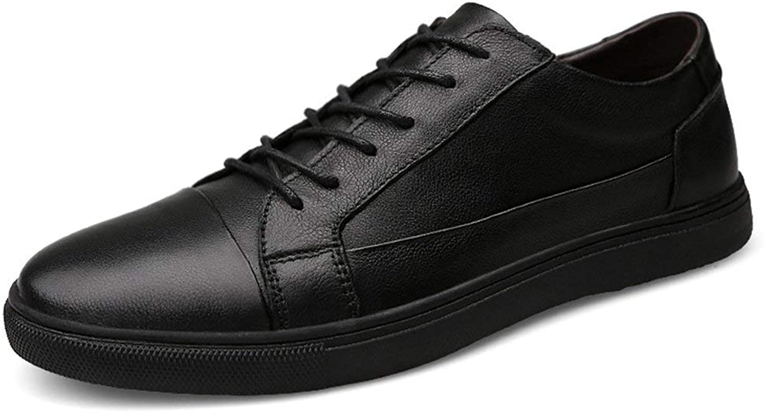 ZHRUI Lightweight Soft Sole Basic Sneakers for Men (color   Black, Size   5.5 UK)