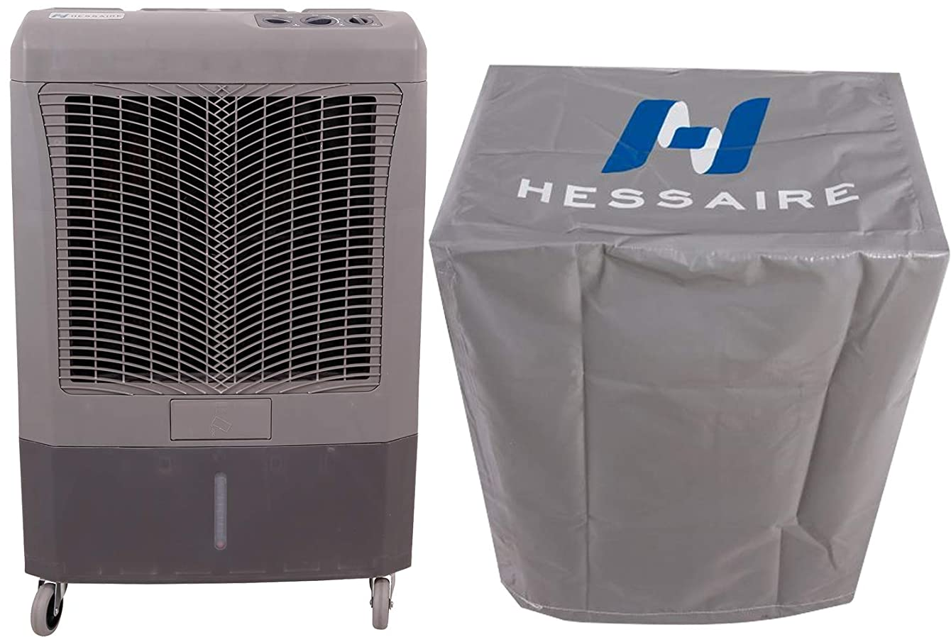 Hessaire MC37M 3,100 CFM Evaporative Cooler with Cooler Cover