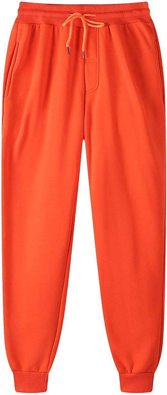 JIANGZHo Pants for Women Men's Lightweight Gym Jogger Sweatpants Hip-hop Pants Legging Padded Casual Pants with Pocket