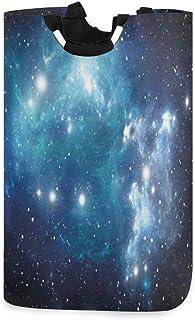 ZOMOY Grand Organiser Paniers pour Vêtements Stockage,Space Mystical Supernova Stars Print,Panier à Linge en Tissu,Impermé...