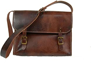 product image for Antique Buffalo Leather Briefcase - Unisex