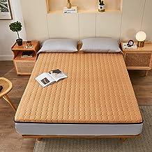 Soft Folding Tatami Mattress,Japanese Floor Mattress Full,Foldable Futon Mattress Topper,Portable Thick Sleeping Pad Japan...
