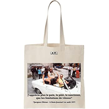 Tote Bag Chirac Vous memmerdez copieusement
