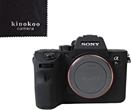 kinokoo Silicone Case for SONY ILCE-7RIII A7R3 A7R a7riii A7M3 III Protective Cover Silicone  black