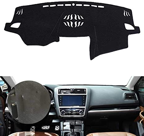Subaru Outback Dashboard Cover Dash Pad Car Mat Carpet Sun Shade for Subaru Outback 2015 2016 2017 2018 Anti-Slip Dash Board Cover Auto Accessories
