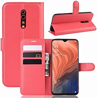 FanTing case for LG W30 Pro Flip Case,With card slots,Premium PU Leather Wallet Case,Anti-Scratch,Magnetic Closure,Kicksta...