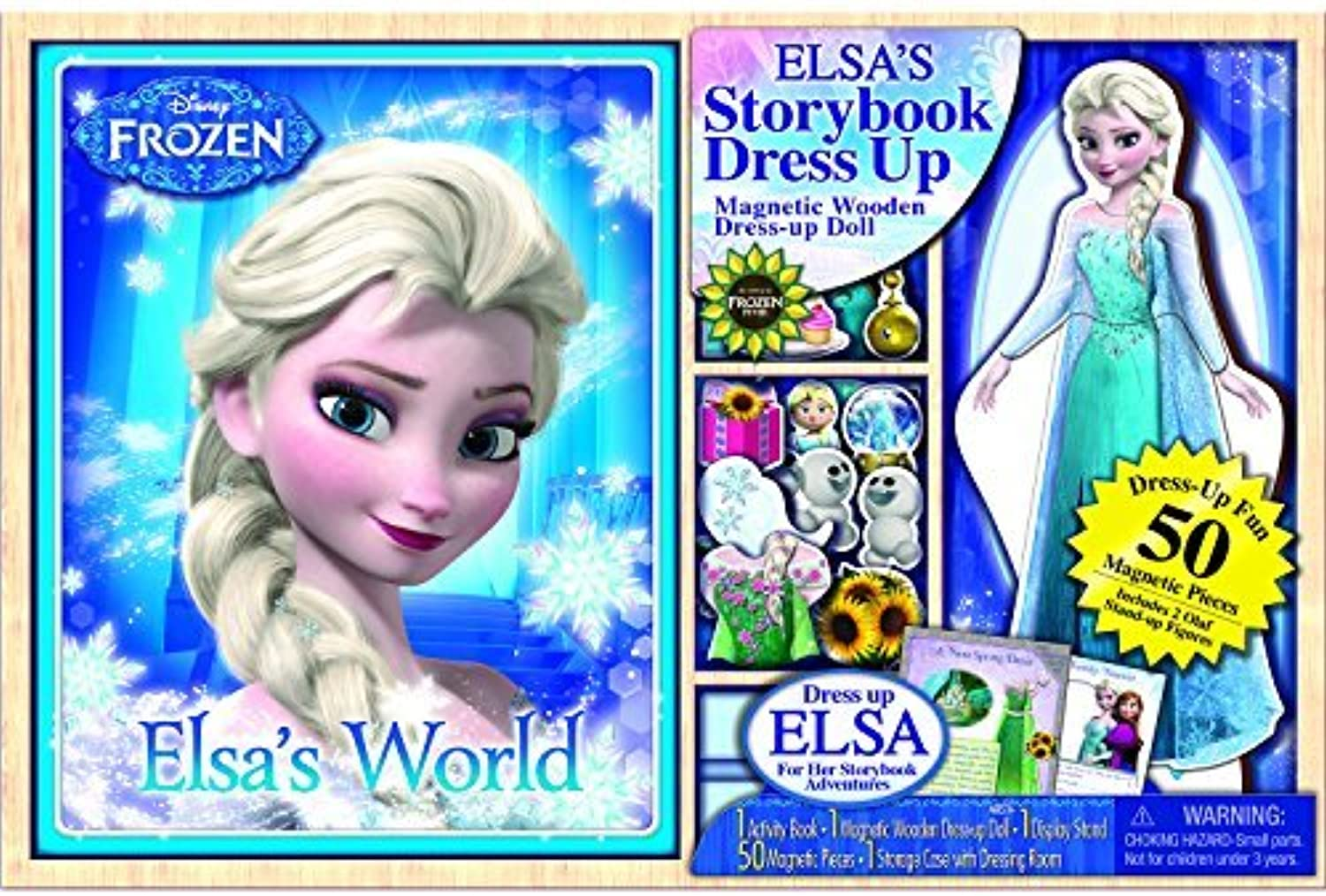 tienda en linea Bendon Disney Frozen Wooden Doll Doll Doll with Puffy Book by Bendon  bajo precio