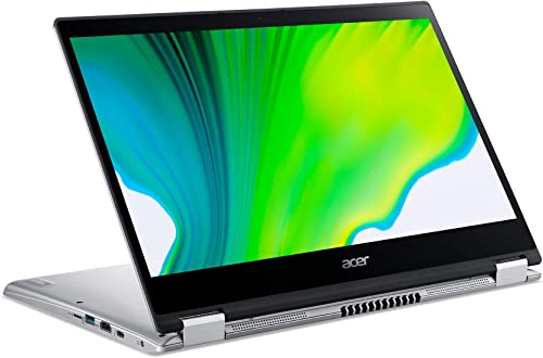"""lowest Acer Spin 3 14"""" Laptop - 10th Gen Intel Core i5-1035G1 14"""" online Widescreen IPS LED-Backlit FHD (1920 x 1080) popular Display 8 GB RAM 256 GB SSD SP314-54N-58Q7 online sale"""