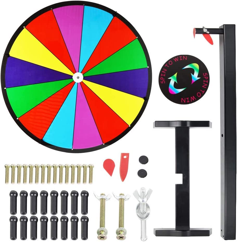 Tabletop Fixed price for sale Prize Wheel Spinning Win The Slots Game Fortune 14 Indianapolis Mall Spin