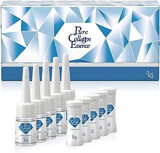 ピュアコラーゲンエッセンス Pure Collagen Essence〈美容液〉5セット(パウダー美容液?美容液 各5本入り)生コラーゲン ヒアルロン酸