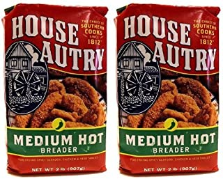 House Autry Medium Hot Breader 2-lb bags (Pack of 2)