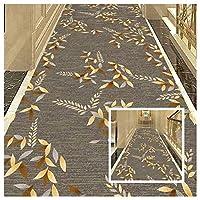 CnCnCn 入り口 滑り止め 玄関マット 廊下 カーペット ランナー フロアマット カスタムサイズ エリアラグ (Color : A, Size : 0.6x2.6m)