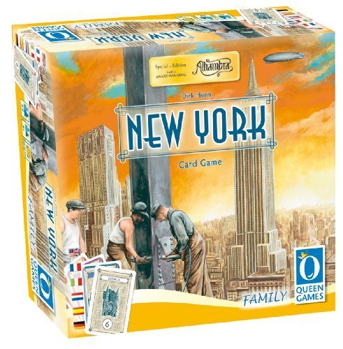 New York Card Game by Queen Games