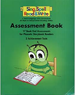 ASSESSMENT BOOK, FIRST GRADE, SING SPELL READ AND WRITE, SECOND EDITION