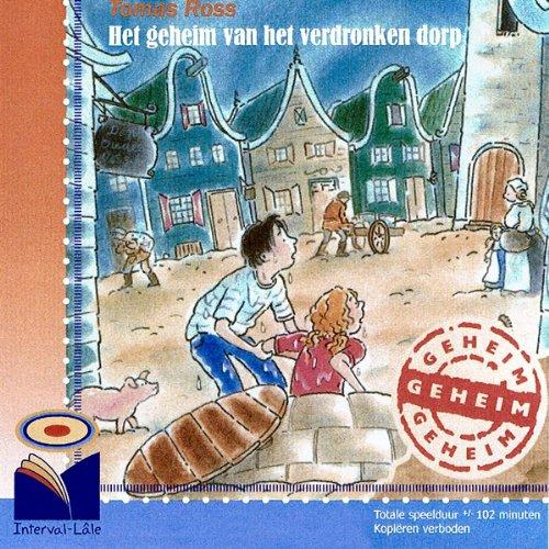 Het geheim van het verdronken dorp audiobook cover art