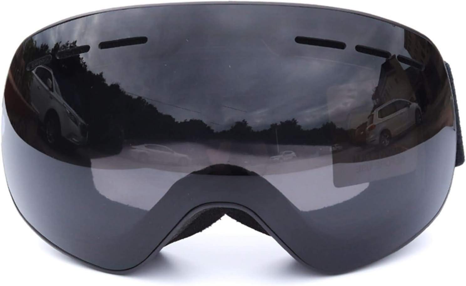 Blisfille Gafas de Moto Fotocromaticas Gafas Protectoras de Soldadura,Negro