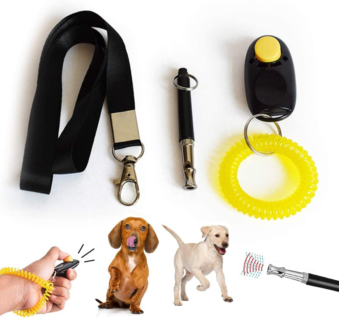 TVMALL Dog Clickers Training Gift mart Professional Ultrasonic Do Spring new work one after another Set