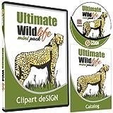 Wildlife/Animals Clipart-Vinyl Cutter Plotter Clip Art Images-Sign Design Vector Art Graphics CD-ROM