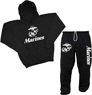 Men's United States Marines USMC Hoodie & Sweatpants Set
