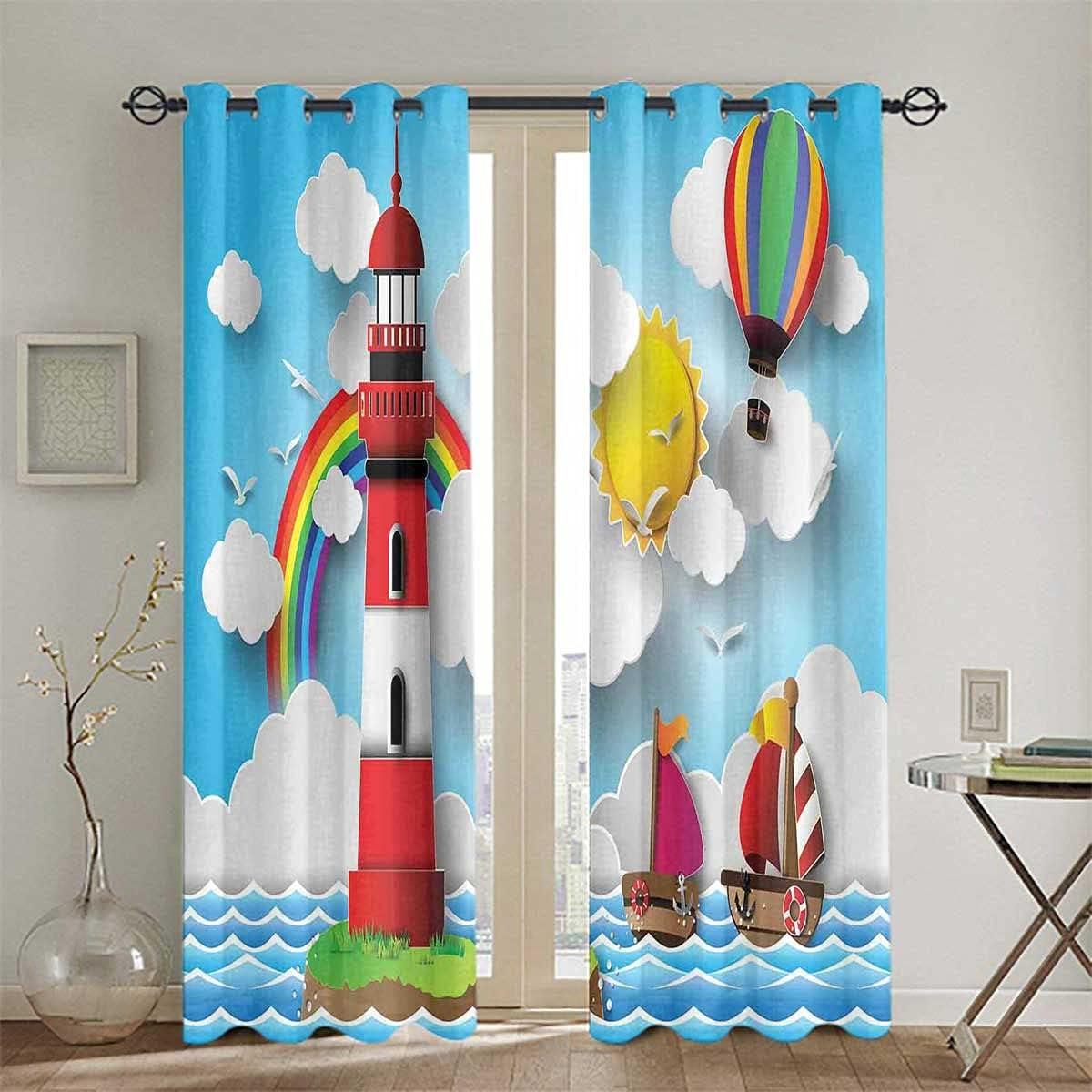 Drape Panel Top Grommet Limited price Window Kids Treatment Curtain Soldering Coas
