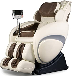 Osaki OS4000D Model OS-4000 Zero Gravity Executive Fully Body Massage Chair, Cream, Computer Body Scan System, True Ergonomic S-Track, Upgraded PU covering for Increase Durability and Comfort