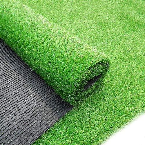 ZIYEYE 30mm Gazon Artificiel Haute Qualité Pas Cher Réaliste Naturel Astro Vert Faux Pelouse Jardin, Balcon Décoration Vert en Plastique Pelouse Jardin De Football Terrain (Size : 2mx1m)