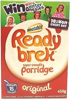 Weetabix - Ready Brek - Super Smooth Porridge - Original - 450g (Case of 6)