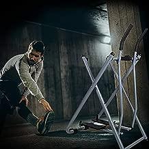 Dporticus Fitness Step Machines Air Walker Glider Elliptical Trainer W/Digital Display