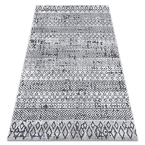 RugsX - Alfombra Sierra, 100% polipropileno, G6042 Beige / Crème - Géométrique, 180x270 cm