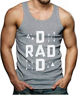 Tstars - Rad Dad Father's Day Gift for Father from Son/Daughter Men's Tank Top
