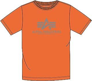 ALPHA INDUSTRIES Basic T-Shirt Tricot, Orange (Alpha Orange), XXXXXL Homme
