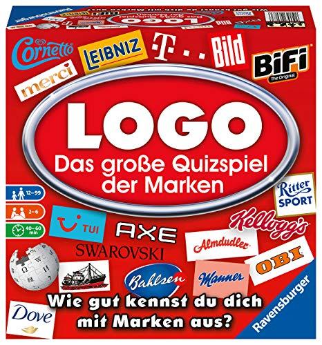 Ravensburger Juegos 26083 – Logo – El Gran Juego de Preguntas de Las Marcas